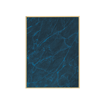Blank Blue Marble Plate