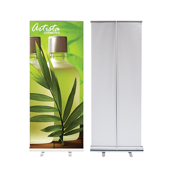 Artista Cosmetics Econo Roll Retractable Banner