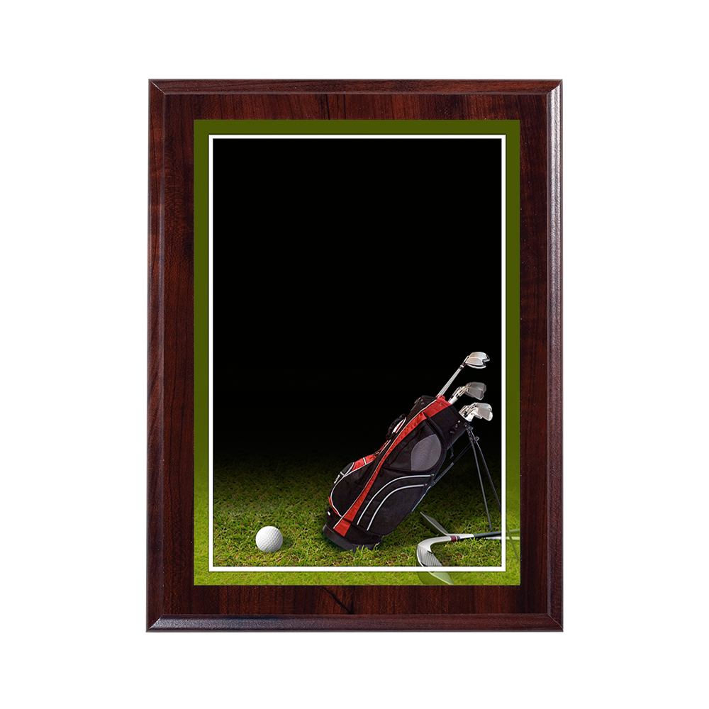 Cherry Finish Sport Plaque Successful Signs And Awards