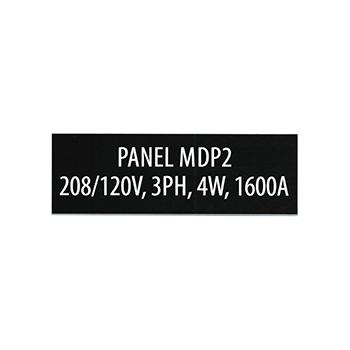 Panel MDP2, 208/120V, 3PH, 4W, 1600A