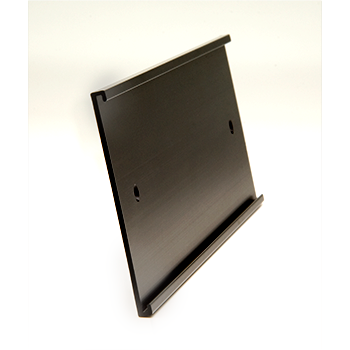 Angled Black Wall Mount