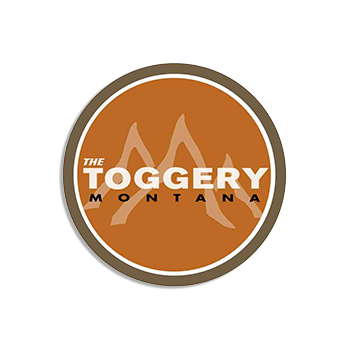 The Toggery Montana Wood Name tag