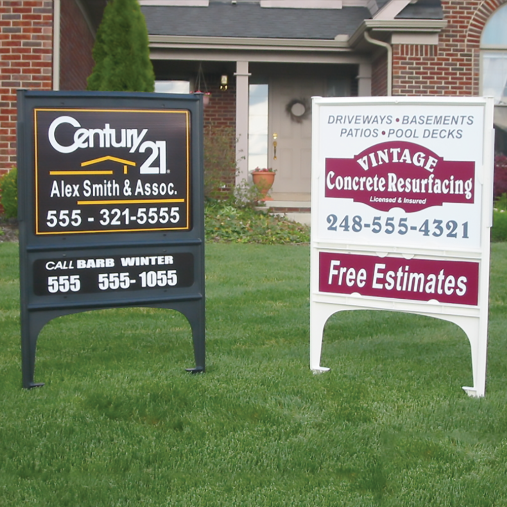 for sale signs furthermore products on real estate yard signs metal