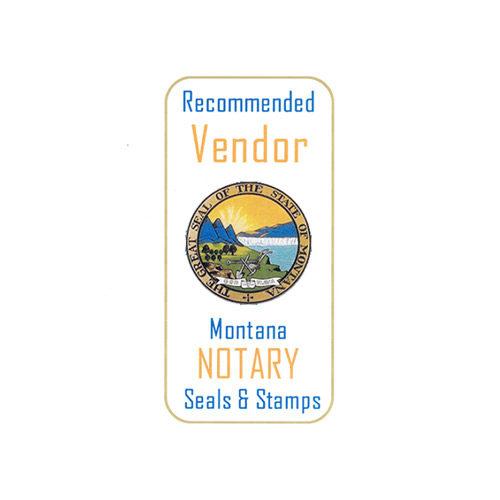 Montana Notary Stamp Vendor