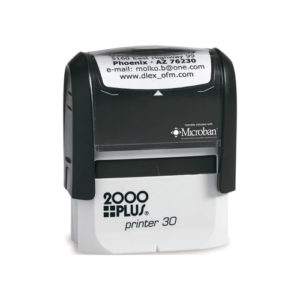 medium sized office stamps