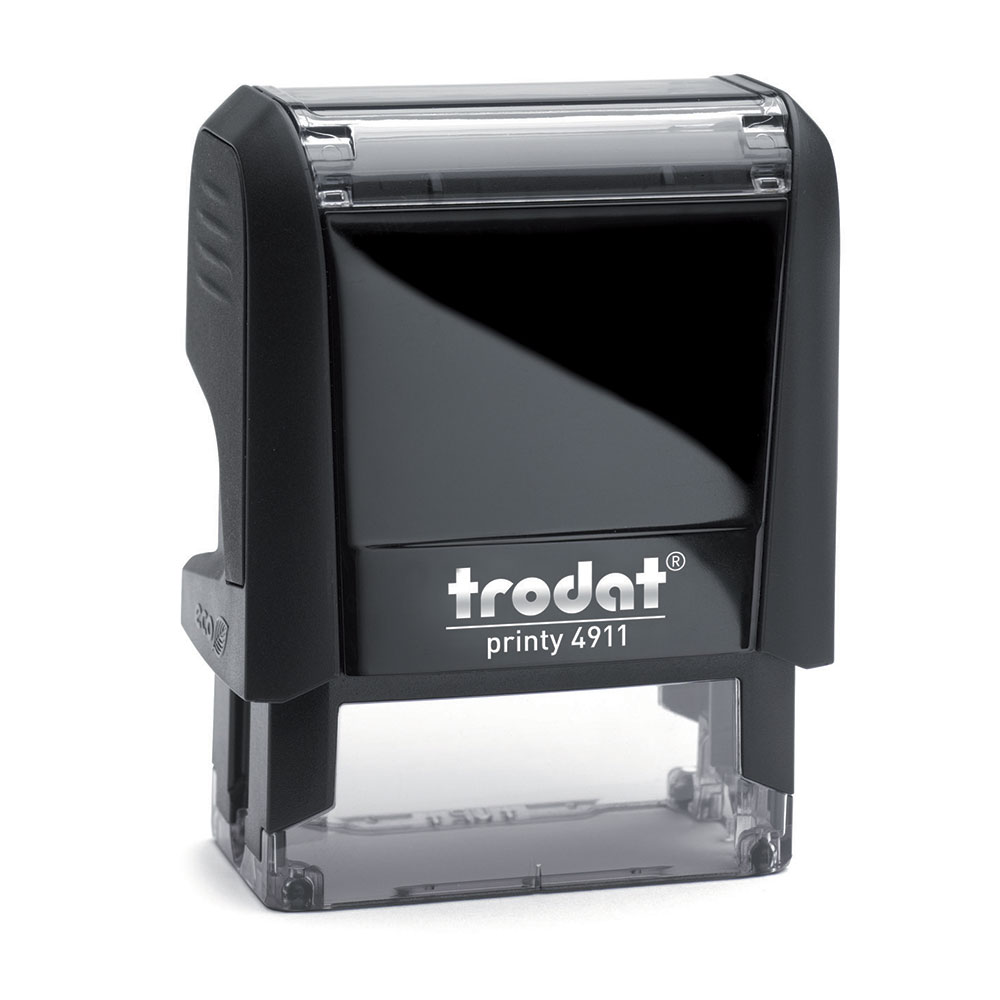 Printy 4911 Custom Self-Inking Rubber Stamp