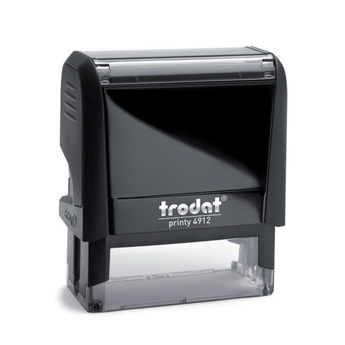 Printy 4912 Custom Self-Inking Rubber Stamp