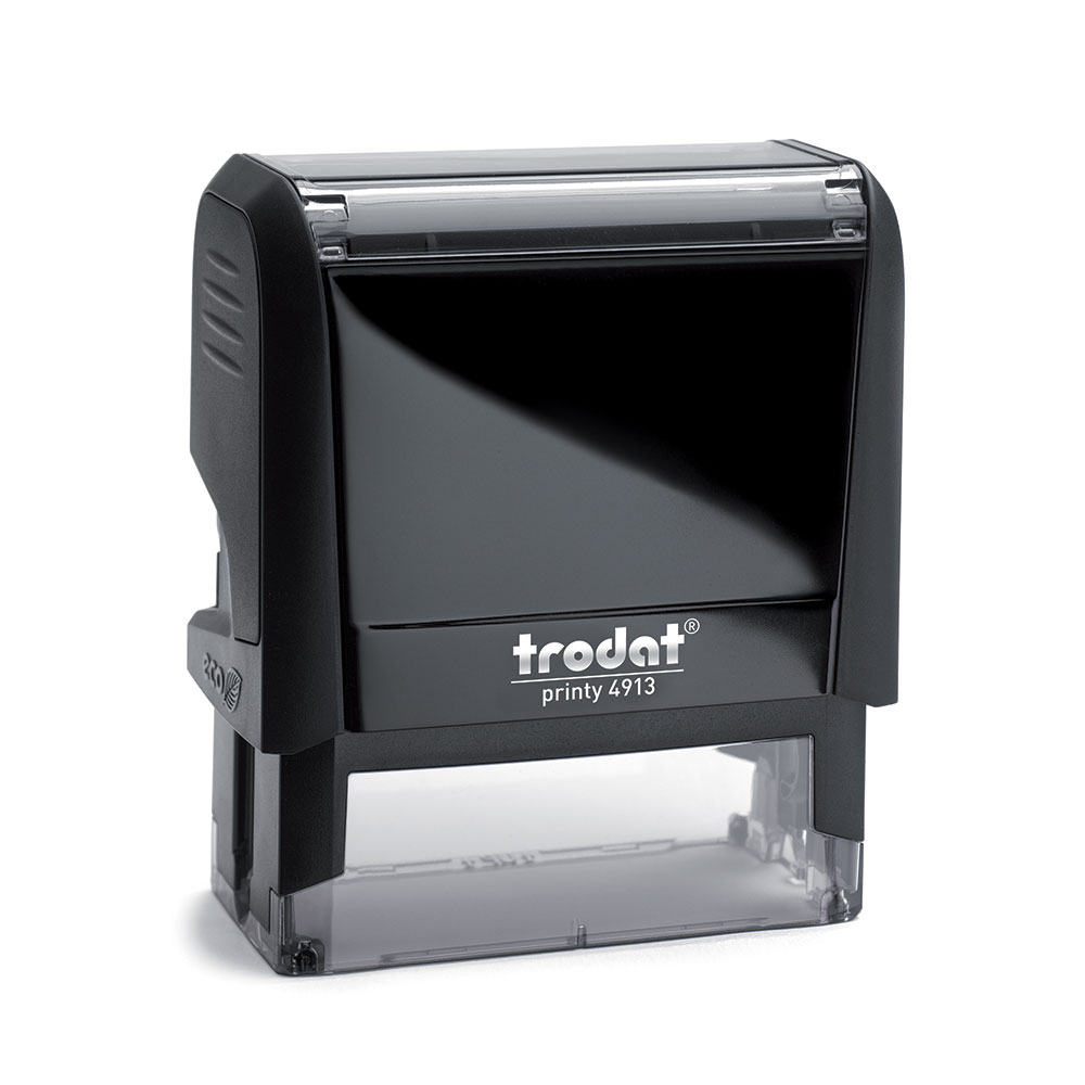Printy 4913 Custom Self-Inking Rubber Stamp
