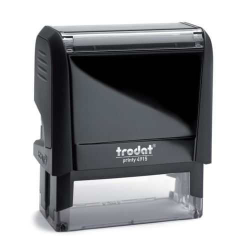 Printy 4915 Custom Self-Inking Rubber Stamp